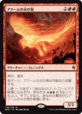 アクームの火の鳥/Akoum Firebird【日本語版】 [BFZ-赤MR]《状態:NM》