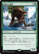 放浪する森林/Woodland Wanderer【日本語版】 [BFZ-緑R]《状態:NM》