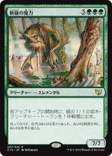 新緑の魔力/Verdant Force 【日本語版】 [C15-緑R]《状態:NM》