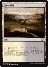 汚れた原野/Tainted Field 【日本語版】 [C15-茶U]《状態:NM》