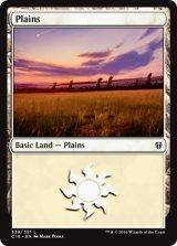 平地/Plains No.338 【英語版】 [C16-土地]《状態:NM》