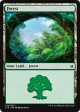 森/Forest No.350 【英語版】 [C16-土地]《状態:NM》