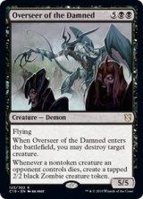 忌むべき者の監視者/Overseer of the Damned 【英語版】 [C19-黒R]《状態:NM》