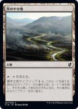 灰のやせ地/Ash Barrens 【日本語版】 [C19-土地C]《状態:NM》