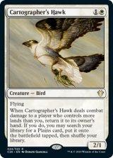 地図作りの鷹/Cartographer's Hawk 【英語版】 [C20-白R]《状態:NM》