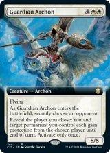 守護の執政官/Guardian Archon (拡張アート版) 【英語版】 [C21-白R]
