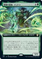 霊園の庭師、イェドラ/Yedora, Grave Gardener (拡張アート版) 【日本語版】 [C21-緑R]