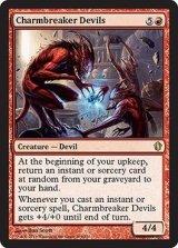護符破りの小悪魔/Charmbreaker Devils 【英語版】 [C13-赤R]