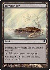 やせた原野/Barren Moor 【英語版】 [C13-土地C]