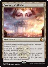 君主の領域/Sovereign's Realm 【英語版】 [CN2-策略MR]《状態:NM》