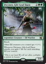 光り葉の将帥、ドゥイネン/Dwynen, Gilt-Leaf Daen 【英語版】 [DDU-緑R]