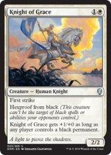 善意の騎士/Knight of Grace 【英語版】 [DOM-白U]《状態:NM》