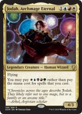 永遠の大魔道師、ジョダー/Jodah, Archmage Eternal 【英語版】 [DOM-金R]《状態:NM》