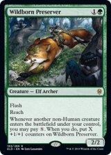 僻境生まれの保護者/Wildborn Preserver 【英語版】 [ELD-緑R]《状態:NM》
