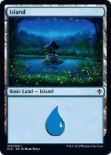 島/Island No.257 【英語版】 [ELD-土地C]《状態:NM》