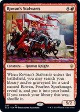 ローアンの親衛隊/Rowan's Stalwarts 【英語版】 [ELD-赤R]《状態:NM》