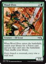 ウッド・エルフ/Wood Elves 【英語版】 [EVG-緑C]《状態:NM》