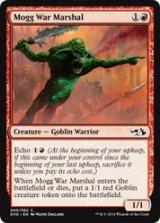 モグの戦争司令官/Mogg War Marshal 【英語版】 [EVG-赤C]《状態:NM》