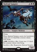 骸骨の吸血鬼/Skeletal Vampire 【英語版】 [GK2-黒R]《状態:NM》