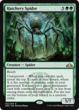 孵卵場の蜘蛛/Hatchery Spider 【英語版】  [GRN-緑R]《状態:NM》