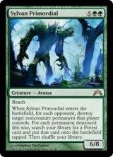 森林の始源体/Sylvan Primordial 【英語版】 [GTC-緑R]《状態:NM》