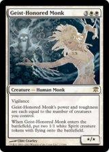 霊誉の僧兵/Geist-Honored Monk 【英語版】 [ISD-白R]