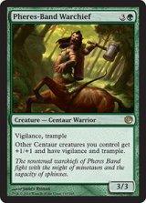 フィーリーズ団の戦長/Pheres-Band Warchief 【英語版】 [JOU-緑R]《状態:NM》