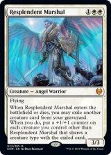 輝かしい司令官/Resplendent Marshal 【英語版】 [KHM-白MR]