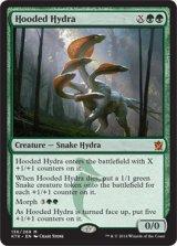 頭巾被りのハイドラ/Hooded Hydra 【英語版】 [KTK-緑MR]《状態:NM》