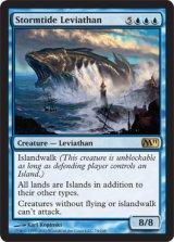 嵐潮のリバイアサン/Stormtide Leviathan 【英語版】 [M11-青R]《状態:NM》