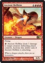 古えのヘルカイト/Ancient Hellkite 【英語版】 [M11-赤R]《状態:NM》