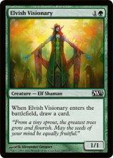 エルフの幻想家/Elvish Visionary 【英語版】 [M13-緑C]《状態:NM》