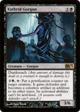 ザスリッドのゴルゴン/Xathrid Gorgon 【英語版】 [M13-黒R]《状態:NM》