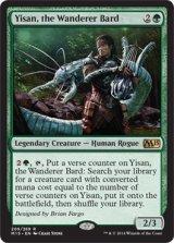 放浪の吟遊詩人、イーサーン/Yisan, the Wanderer Bard 【英語版】 [M15-緑R]《状態:NM》