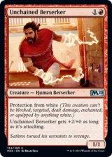 解き放たれた狂戦士/Unchained Berserker 【英語版】 [M20-赤U]《状態:NM》
