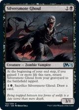 銀打ちのグール/Silversmote Ghoul 【英語版】 [M21-黒U]《状態:NM》