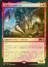 [FOIL] 冠滅ぼしのガドラク/Gadrak, the Crown-Scourge 【日本語版】 [M21-赤R]《状態:NM》