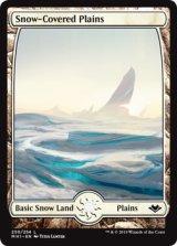 冠雪の平地/Snow-Covered Plains 【英語版】 [MH1-土地C]《状態:NM》