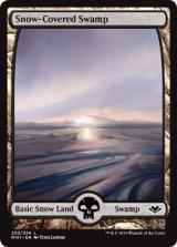 冠雪の沼/Snow-Covered Swamp 【英語版】 [MH1-土地C]《状態:NM》