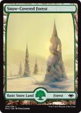 冠雪の森/Snow-Covered Forest 【英語版】 [MH1-土地C]《状態:NM》