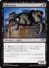 墓所のネズミ/Crypt Rats 【日本語版】 [MH1-黒U]《状態:NM》