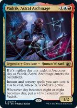 星の大魔導師、ヴァドリック/Vadrik, Astral Archmage 【英語版】 [MID-金R]