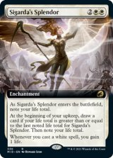 シガルダの輝き/Sigarda's Splendor (拡張アート版) 【英語版】 [MID-白R]