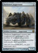 ダークスティールの巨大戦車/Darksteel Juggernaut 【英語版】 [SOM-アR]《状態:NM》