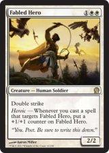 威名の英雄/Fabled Hero 【英語版】 [THS-白R]《状態:NM》