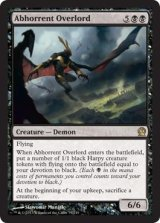 忌まわしき首領/Abhorrent Overlord 【英語版】 [THS-黒R]《状態:NM》