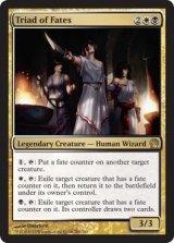 運命の三人組/Triad of Fates 【英語版】 [THS-金R]《状態:NM》