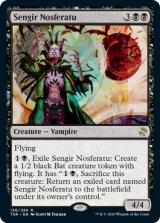センギアの吸血魔/Sengir Nosferatu 【英語版】 [TSR-黒R]