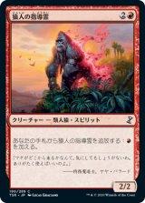 猿人の指導霊/Simian Spirit Guide 【日本語版】 [TSR-赤C]