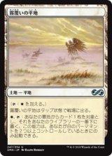 霧覆いの平地/Mistveil Plains 【日本語版】 [UMA-土地U]《状態:NM》